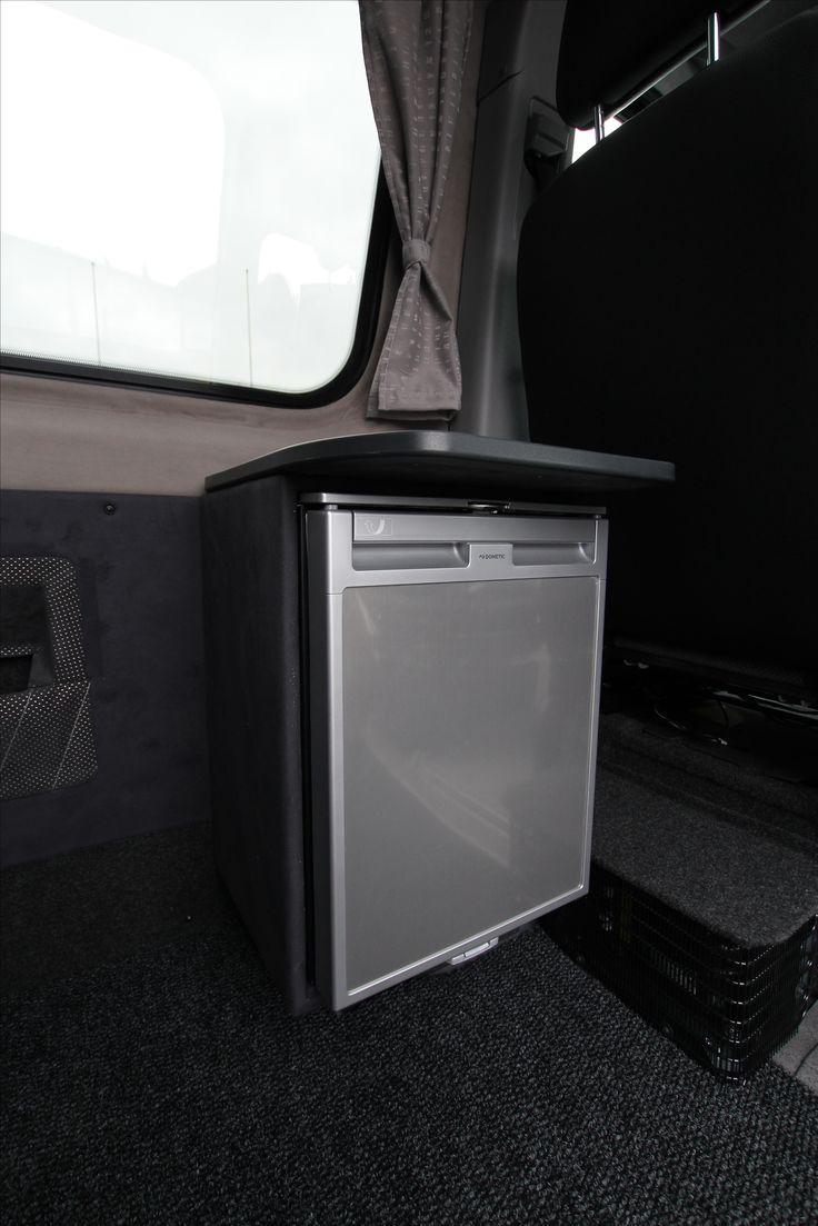 Mercedes-Benz Sprinter Tamlans Camping Van, Side Table and Fridge