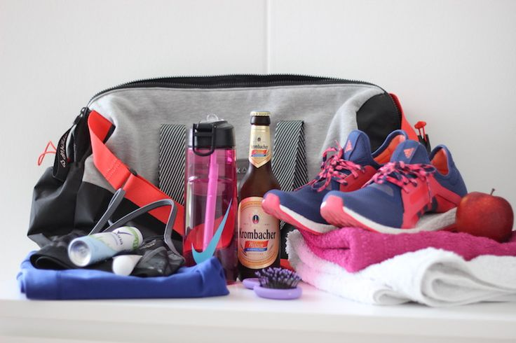 What's in my gym bag? / Was ist in meiner Sporttasche?