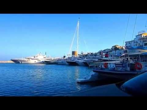 SUMMER IN THE TOWN PUERTO BANÚS SPAIN 2016 mp4