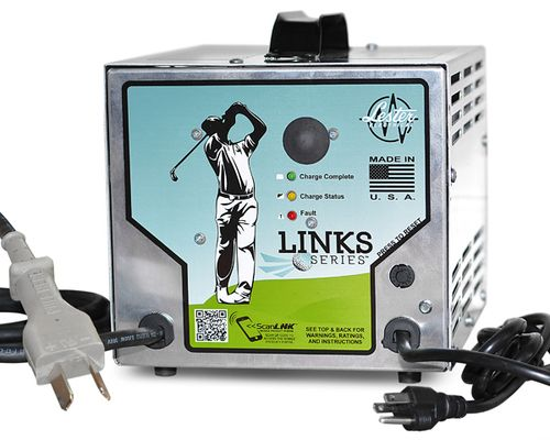 48 Volt Golf Cart Battery Charger With Crowsfoot Plug