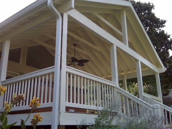 17 best images about deck ideas on pinterest wood decks for Porch roof designs
