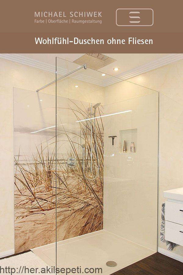 Duschen Ohne Fliesen Modern Pflegeleicht Langlebig Badezimmer Dusche Fliesen Badezimmer Fliesen Dusche