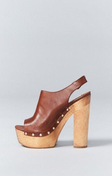 Steeve Madden Slngshut Heel ~ Cognac   Show Me Your MuMu
