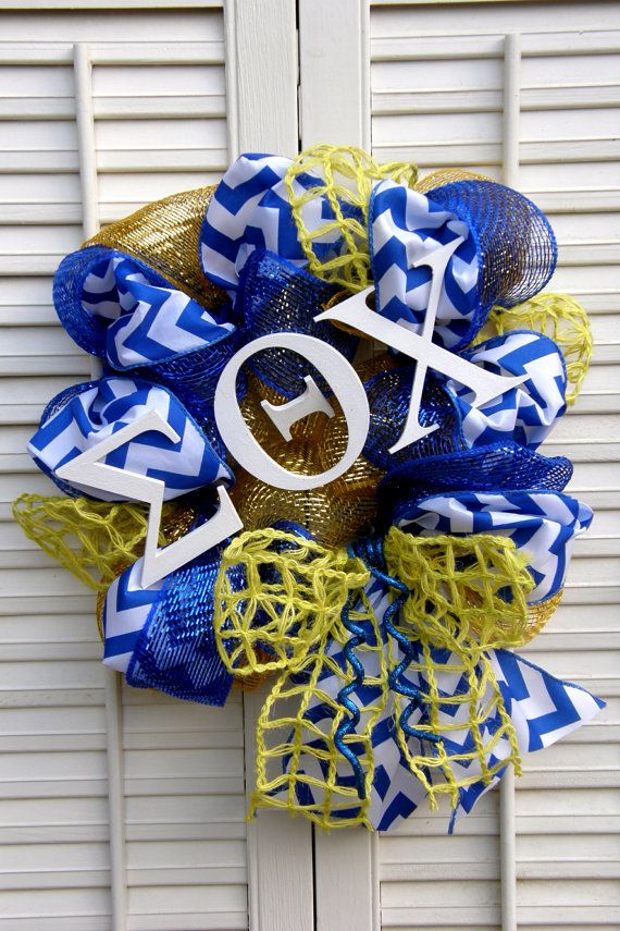 Sorority Decor Sigma Theta Chi Greek by Underthekentuckysun