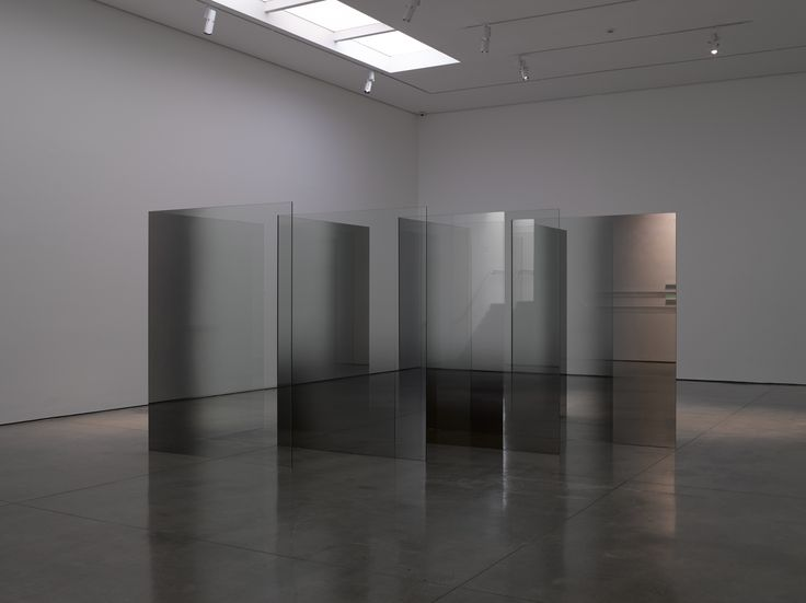 Larry Bell: 2D-3D: Glass and Vapor   Art in London