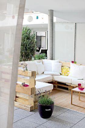 Pinterest : 10 meubles de jardin en palettes de bois