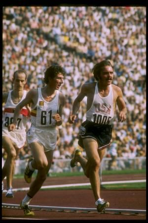 Steve Prefontaine's Best Quotes About Running: Steve Prefontaine runs in the 5000 meter event at the 1972 Olympic Games in Munich, Germany.