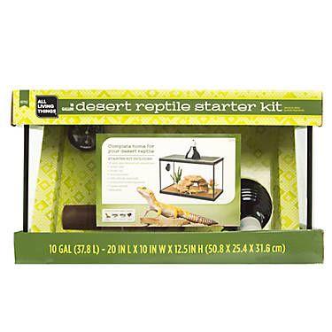 All Living Things Desert Reptile Starter Kit Animals Reptile