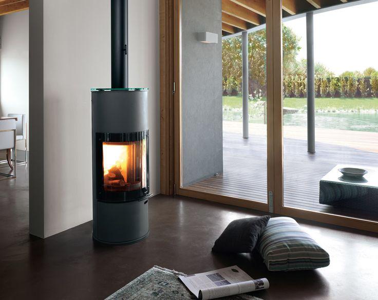 Pallazzetti freestanding woodburner