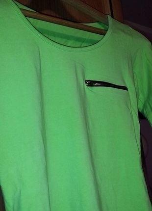 Kup mój przedmiot na #vintedpl http://www.vinted.pl/damska-odziez/bluzki-z-dlugimi-rekawami/13045911-bluzka-seledynowa-z-dlugim-rekawem-34-36