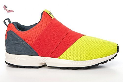 Adidas ZX Flux Slip On, semi solar yellow-hi-res red-bold onix, 9 - Chaussures adidas (*Partner-Link)
