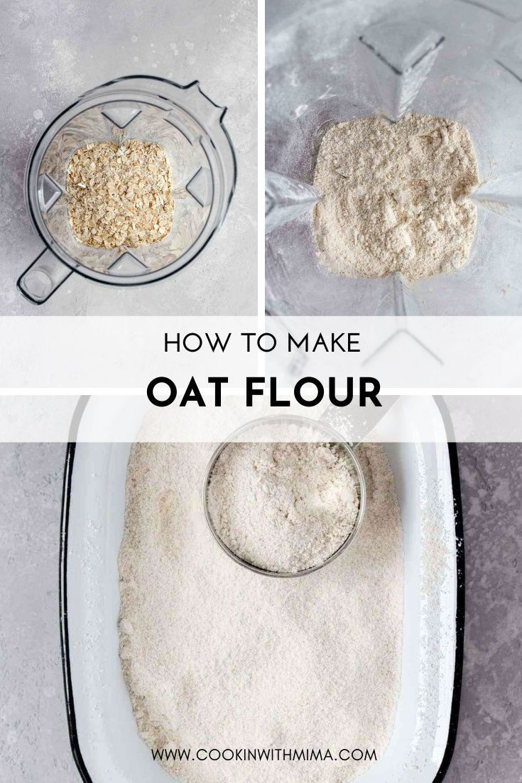 How To Make Oat Flour Recipe Food Processor Recipes Diy Food Recipes How To Make Oats