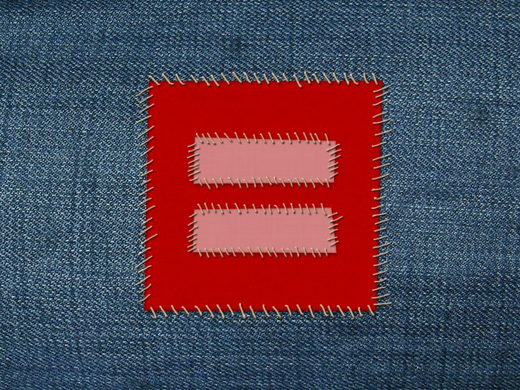 Human Rights Campaign - Marriage Equality Patch by Erin E. Sullivan