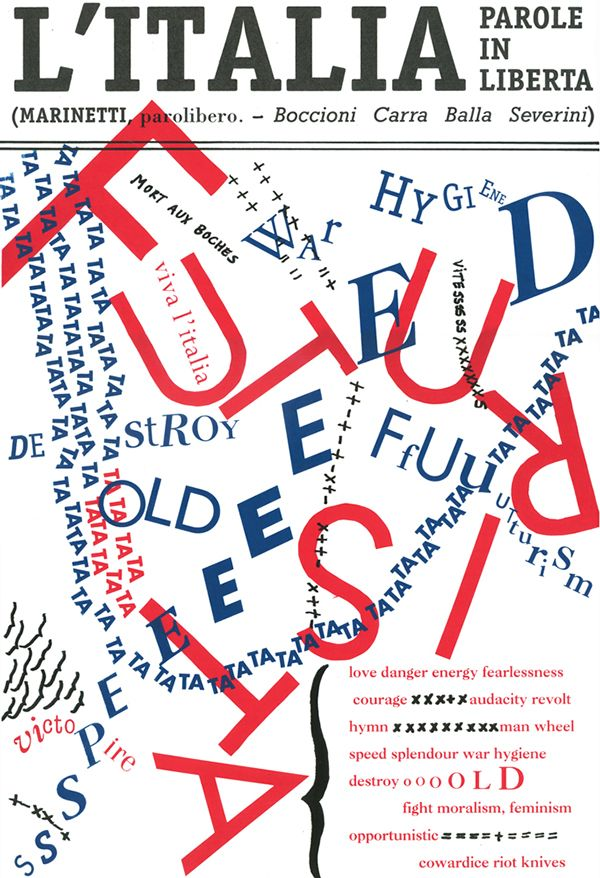 Erica Yamada. Published: February 27, 201. ABOUT Silkscreen/Letter press poster for Italian Futurism