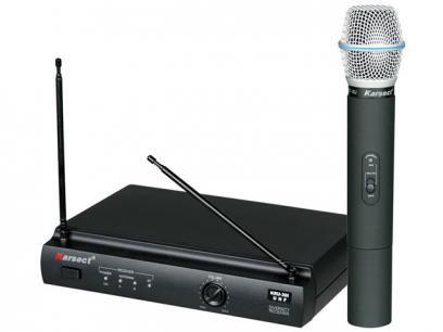 Microfone sem Fio - Karsect KRU 301 com as melhores condições você encontra no Magazine Vitoriagraciele. Confira!