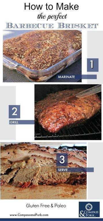 This is easy to make, so tender and sure to be a favorite! It is at our house!  Click here to get the recipe and smoking instructions Why Easy Barbecue Brisket is the Best  #bbq #barbecue #barbeque #beef #brisket #smoker #recipe