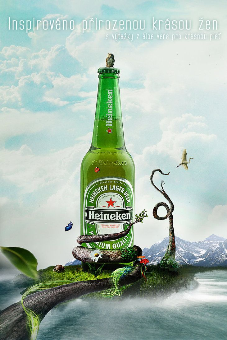 Nature Heineken by ~Paigik on deviantART