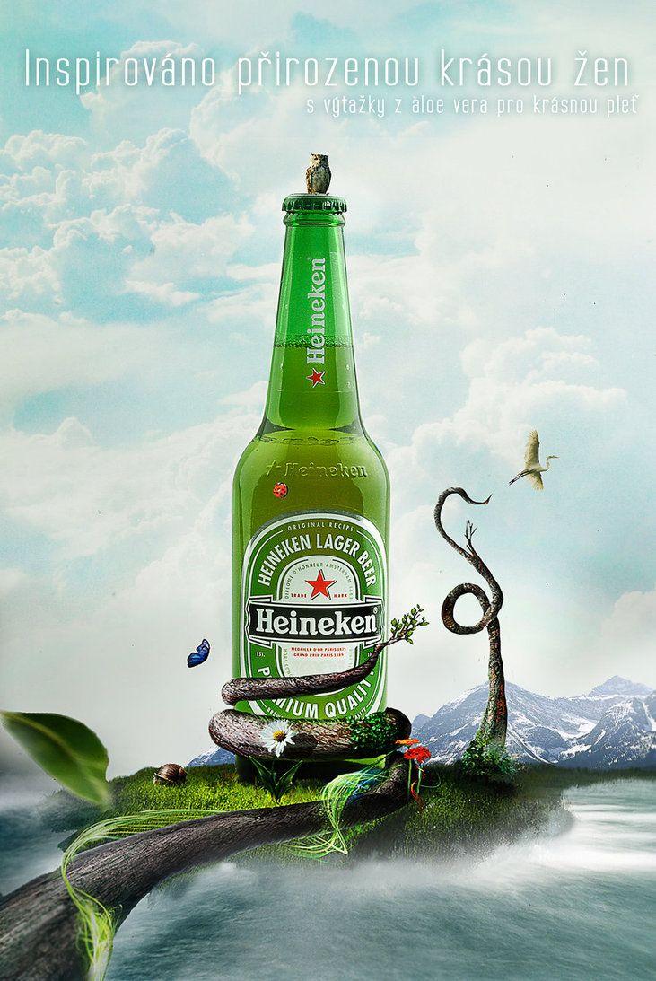 Nature Heineken by ~Paigik on deviantART