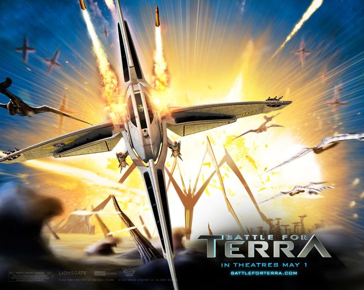 Watch Streaming HD Battle For Terra, starring Evan Rachel Wood, Luke Wilson, Justin Long, Brian Cox. A peaceful alien planet faces annihilation, as the homeless remainder of the human race sets its eyes on Terra. Mala, a rebellious Terrian teenager, will do everything she can to stop it. #Animation #Action #Adventure #Sci-Fi #Thriller http://play.theatrr.com/play.php?movie=0858486