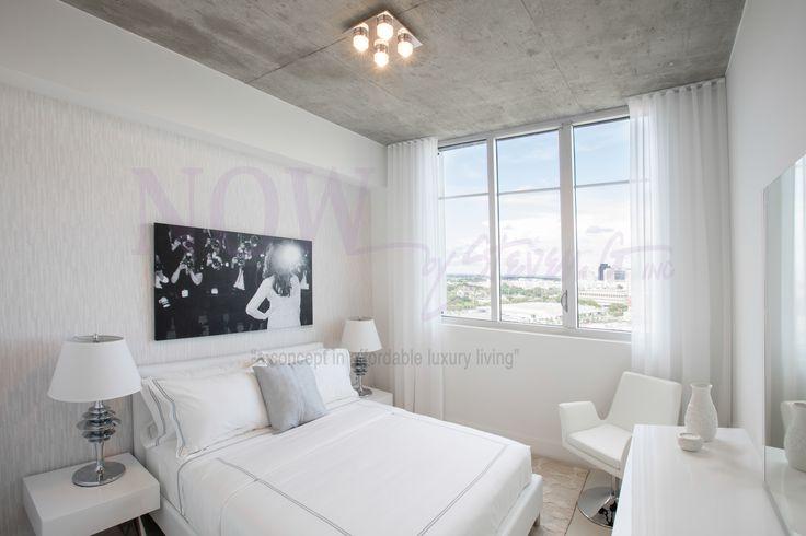 Best All White Modern Bedroom Dresser Mirror Accentchair Allwhite White Furntiure Modern 640 x 480