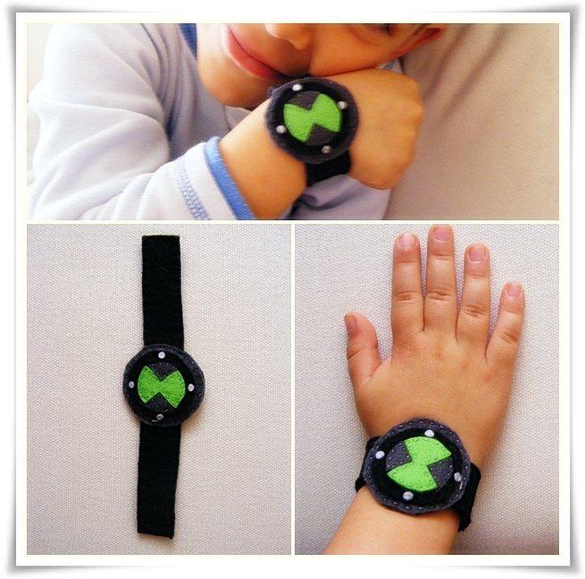 Ben 10 watch. Made it for my son. He loved it!