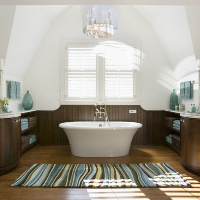 Best Blue And Brown Bathroom Images On Pinterest Bathroom - Brown and white bathroom rugs for bathroom decorating ideas
