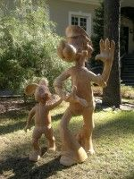 Деревянная скульптура / Творческая мастерская Сергея Ларионова - Профессиональная резьба по дереву