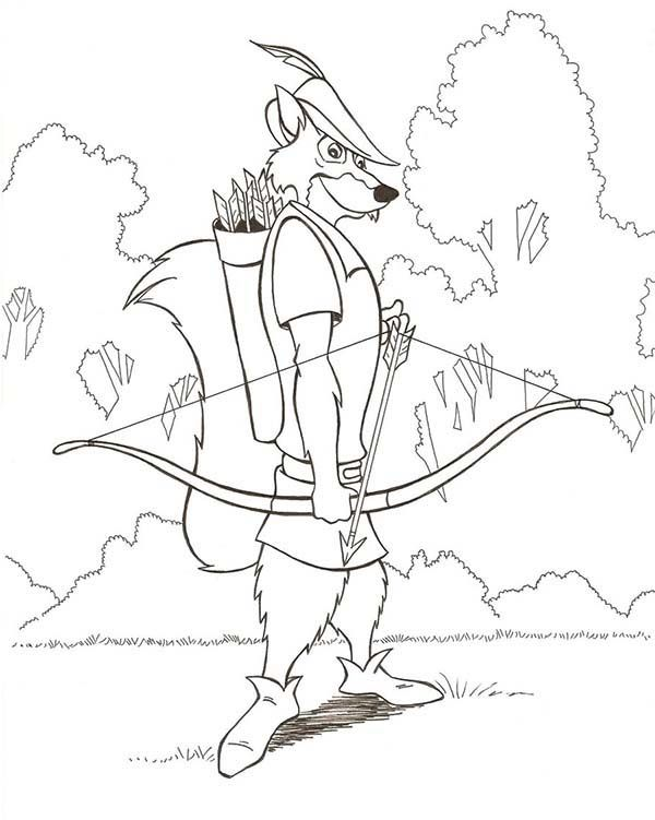 14 Best Coloring Pages Robin Hood Images On Pinterest