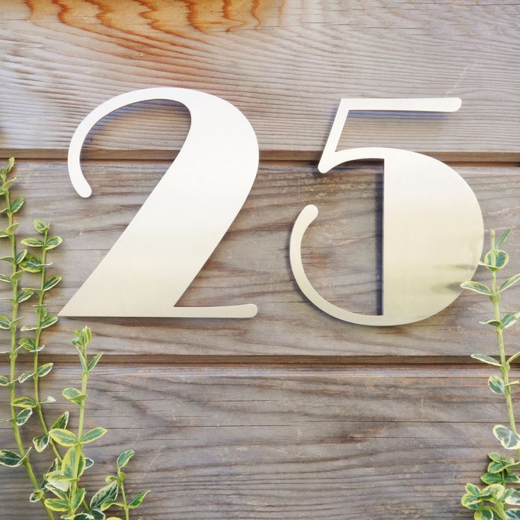 50 best House Numbers images on Pinterest House numbers