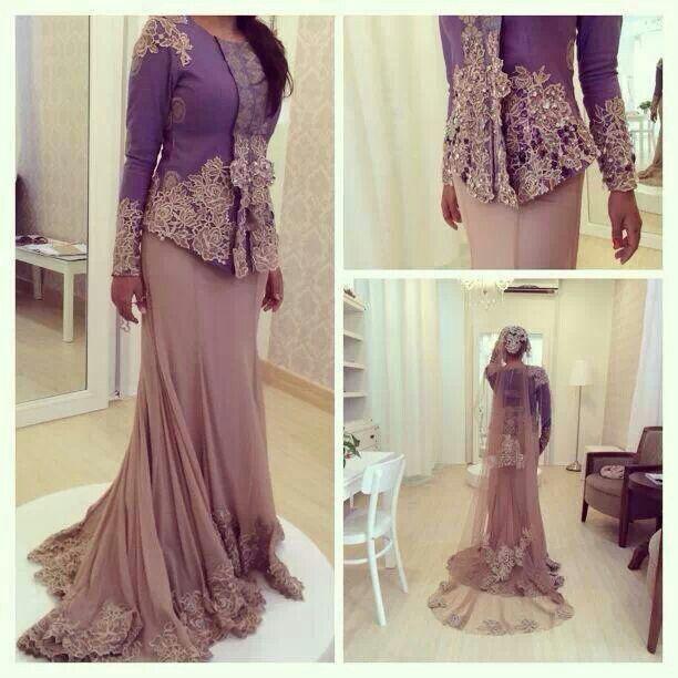Malay wedding dress