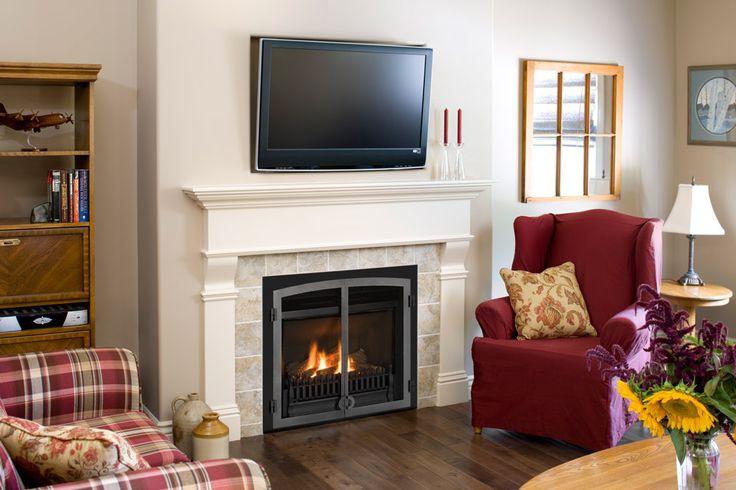Foyer Au Gaz Salon : Ideas about foyer au gaz on pinterest fireplace