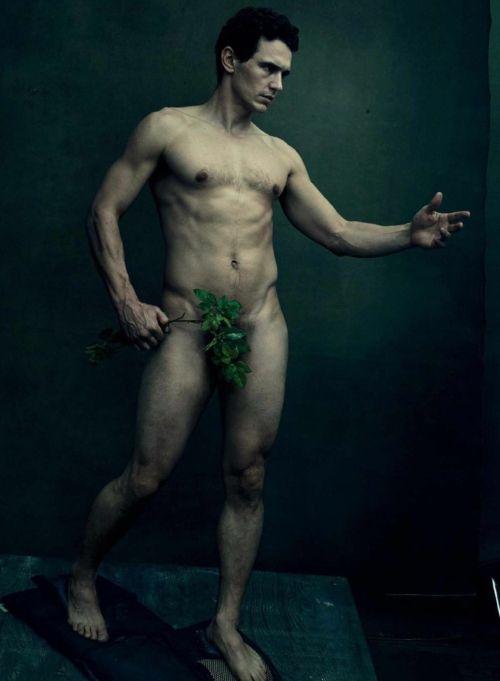 James Franco Italia: James Franco è Adamo fotografato da Annie Leibovit...
