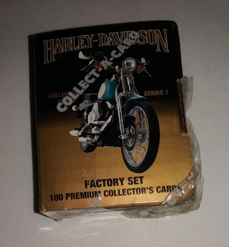 1992 HARLEY DAVIDSON COLLECTOR CARDS SET 2