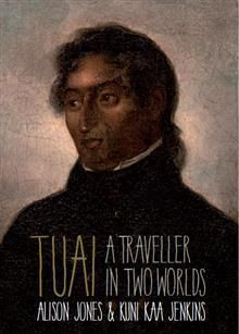 """""""Tuai : a traveller in two worlds', by Alison Jones and Kuni Kaa Jenkins - Thrilling biographical narrative of a young Bay of Islands leader who grew up in the Māori world of the early nineteenth century - and crossed the globe to encounter England in the midst of the industrial revolution . This is a story about the Māori discovery of England. These voyages between worlds represented risk and opportunity: Tuai chose opportunity, and the rest is history. 2018 Finalist Illustrated…"""