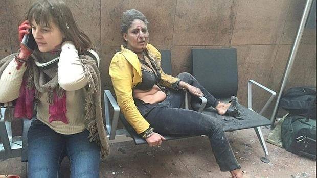 Varios pasajeros heridos tras la explosión en el aeropuerto de Bruselas