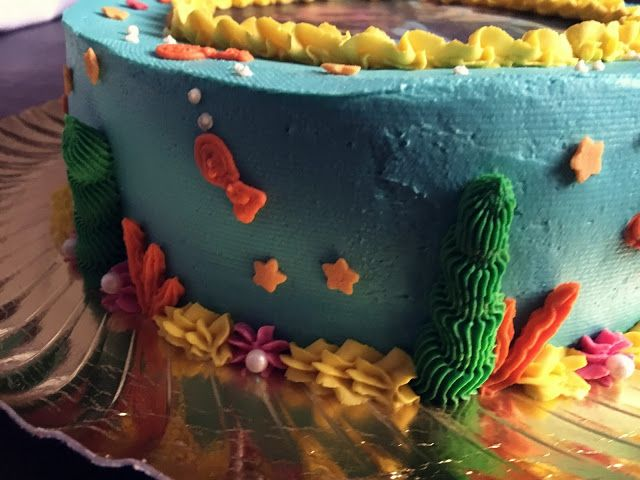 Deep Ocean Cake