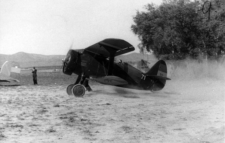 Spain - 1937. - GC - Polikarpov I-15 Chato