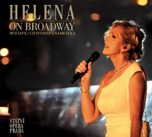 HELENA 50 LET NA SCÉNĚ | DVD a CD Helena on Broadway