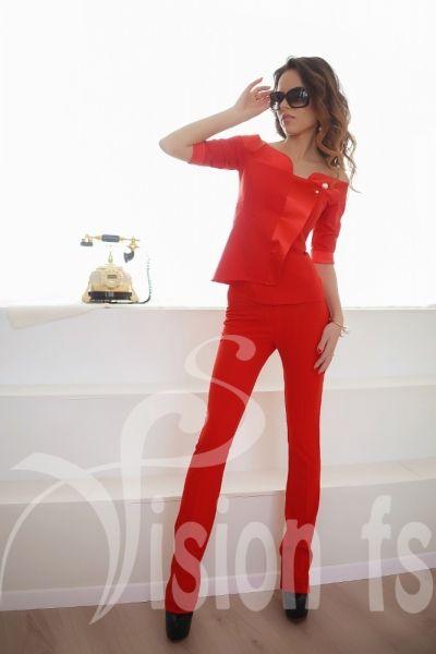 Трендовый элегантный костюм Мулен Руж