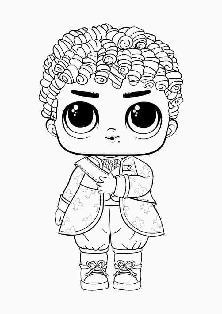 Lol 2019 Boys Coloring Pages Sand Coloring King Bee Lol Doll 2019