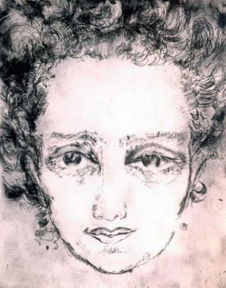 Fahrelnissa Zeid - Self Portrait