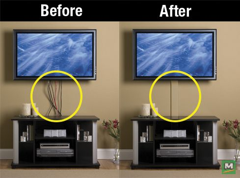 The Legrand Wiremold Flat Screen Tv Cord Cover Can Be Snapped On And Off To Change Cable Wires It Is Easy To Install And Can Tv Cords Cord Cover Tv Cord
