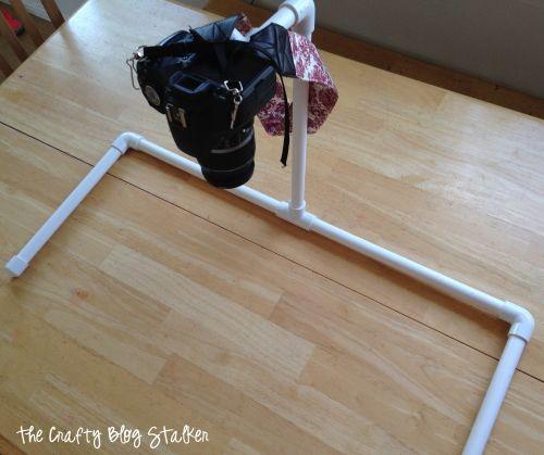 DIY Overhead Camera Mount  |  The Crafty Blog Stalker