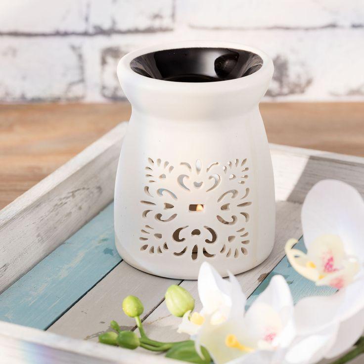 Podgrzewacz White&Black wys.12cm, wys.12cm - Dekoria #Candlesticks #swieczki #swieczniki #home #dom #decoration #inspiration #livingroom #dekoracje #interior