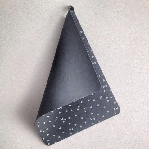 Set de 2 salvamanteles gris claro / Placemat Light Grey with Print – Smila Home
