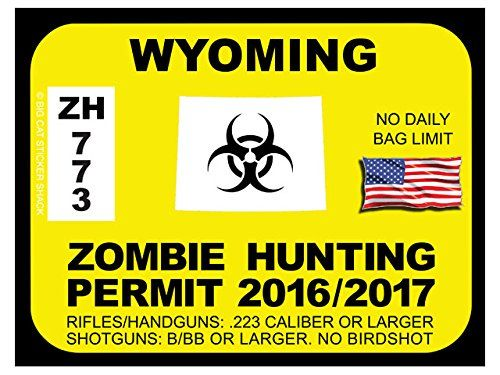 227 best images about zombie hunting permits on pinterest for Wyoming fishing license online