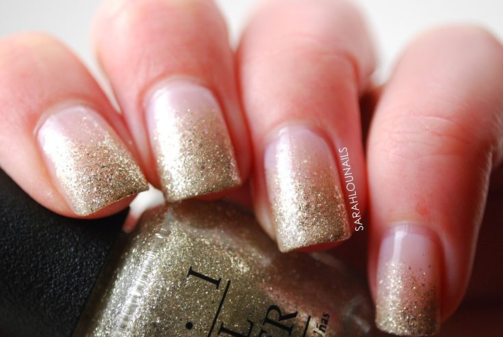 gradient nails with glitter – Google Search