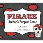 This product is a game that can easily be put into a file folder or center. Players try to reach the pirate ship first by correctly reading a quic...