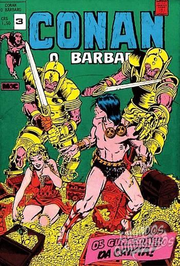 Conan O Bárbaro n°3 - Minami & Cunha (M & C) - Guia dos Quadrinhos