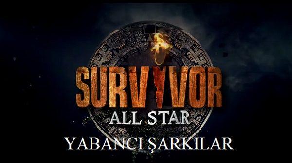 2015 Survivor All Star Çalan Yabancı Şarkılar ve Müzikler